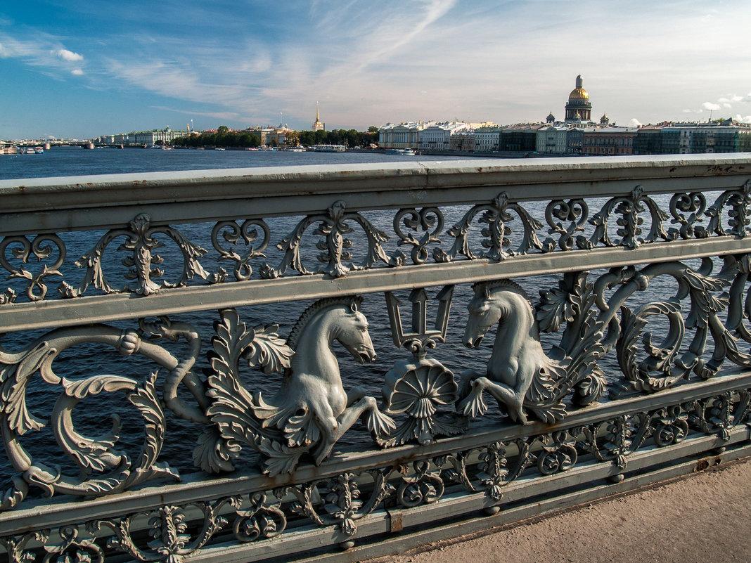 Ограда Благовещенского (Лейтенанта Шмидта) моста - Елена Кириллова