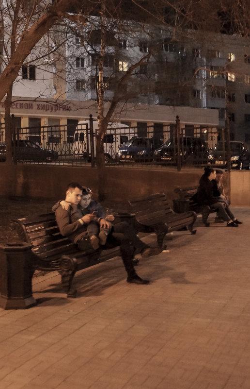 Скамейки в Уфе - Георгий Морозов