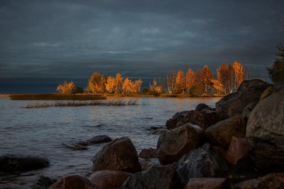 Финский залив в октябре... - Светлана Салахетдинова
