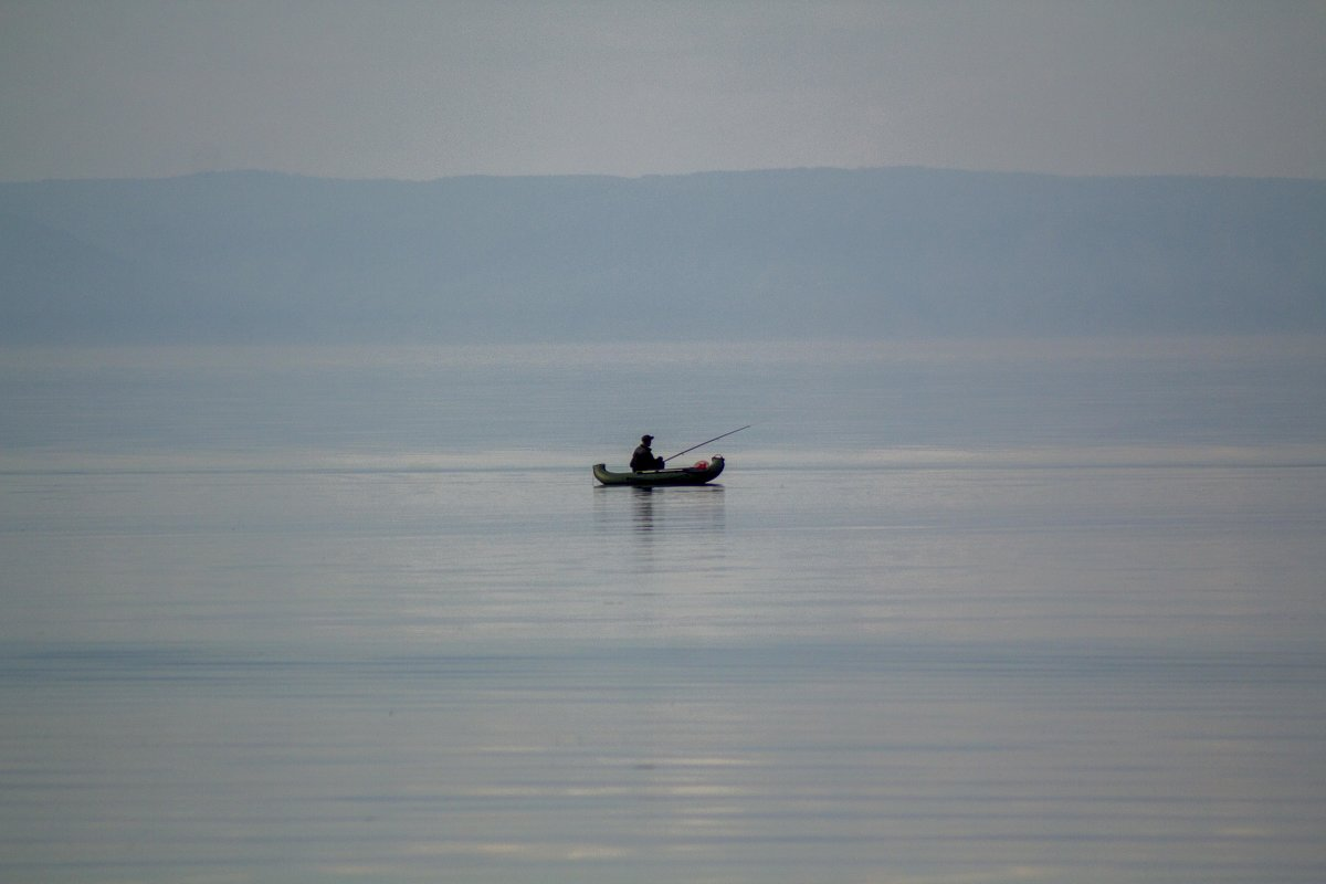 Рыбалка на рассвете - Марина Кириллова