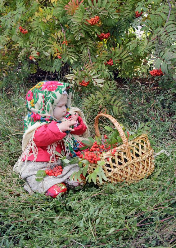 Малышка в платочке - Алена Береzа
