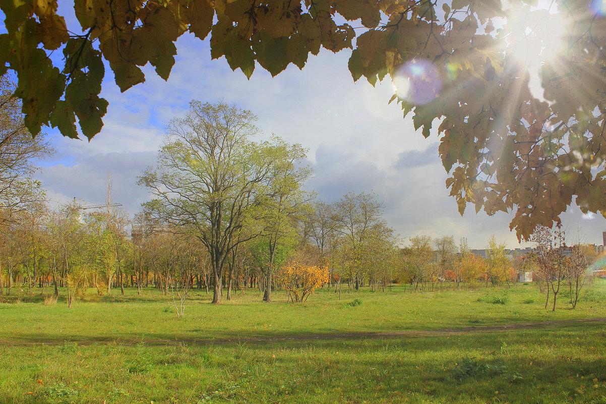 Осенний день - оксана косатенко