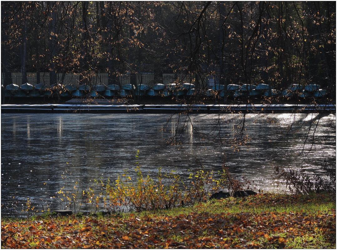 лодки в ноябре - sv.kaschuk