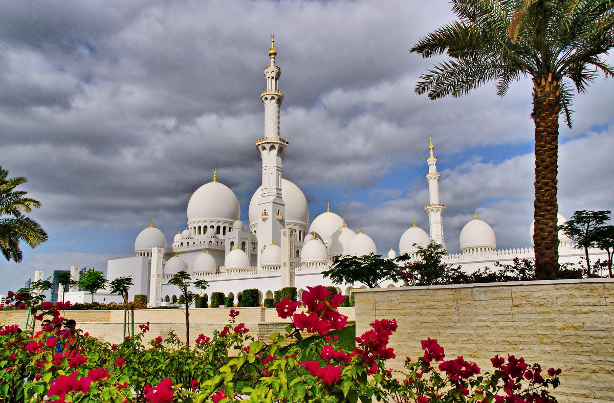 Мечеть шейха Зайеда - Андрей K.