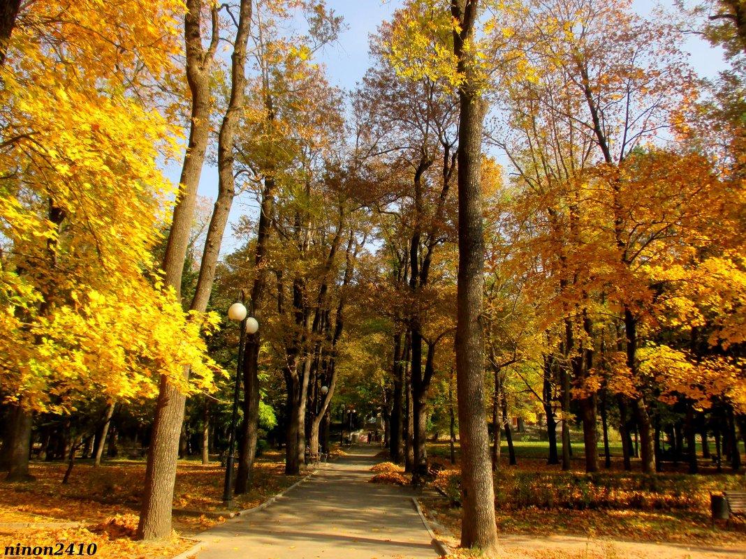 В Кисловодском курортном парке - Нина Бутко