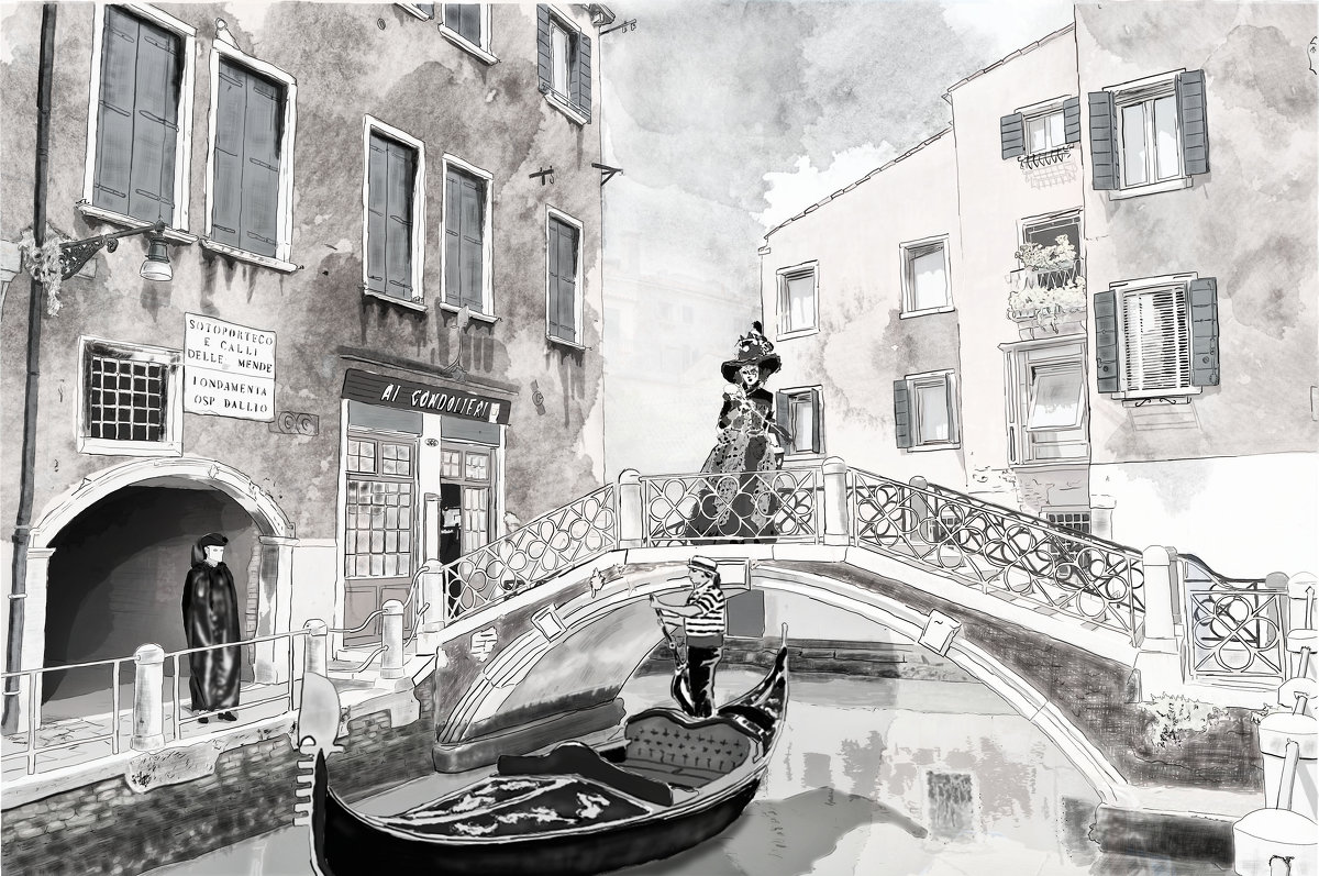 Венецианская история - Сергей Шруба