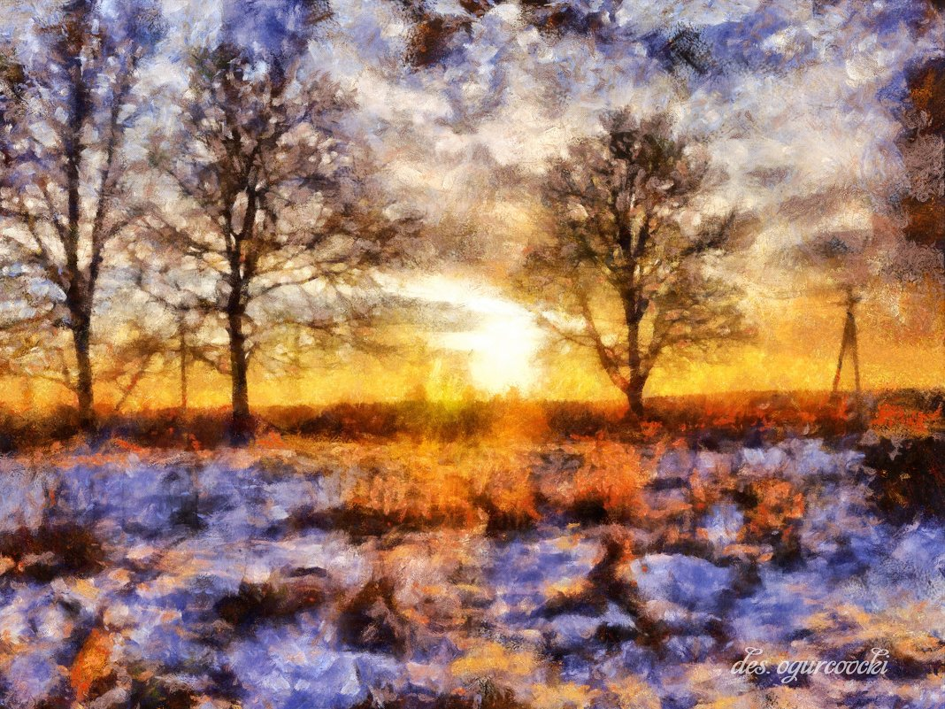 первый снег - ogurcovcki ogurcovcki