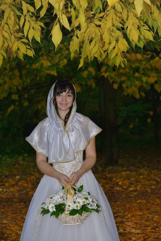 Катерина. Красивая Невеста.Золотая Осень.Прогулка под дождём. - Раскосов Николай