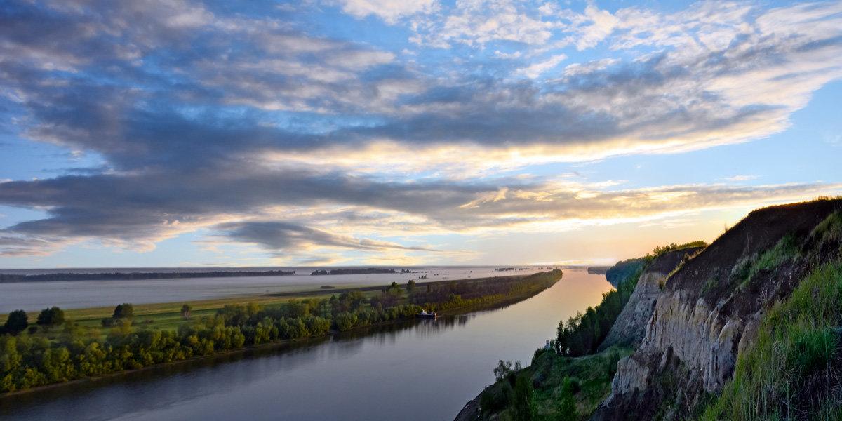 Рассвет над  Иртышом - Геннадий Супрун