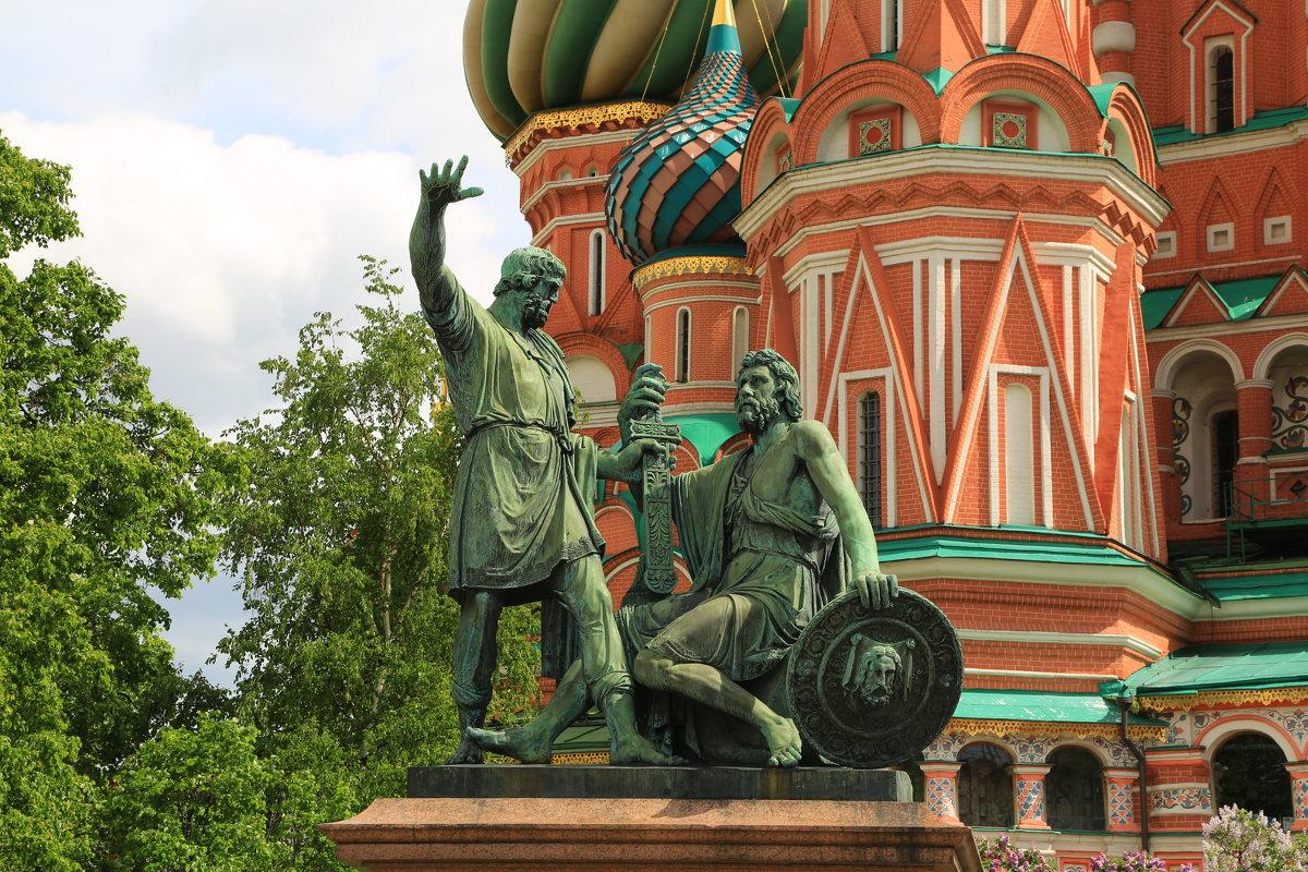 Москва,Минин и Пожарский - ninell nikitina