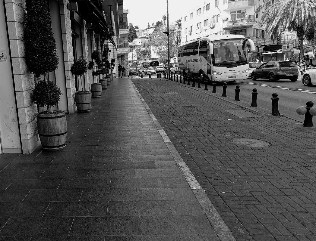одна из улиц в Назарете - evgeni vaizer