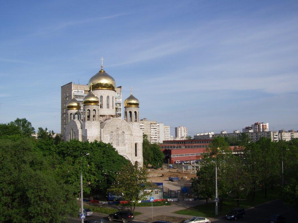 Церковь в Новогиреево - Анна Воробьева