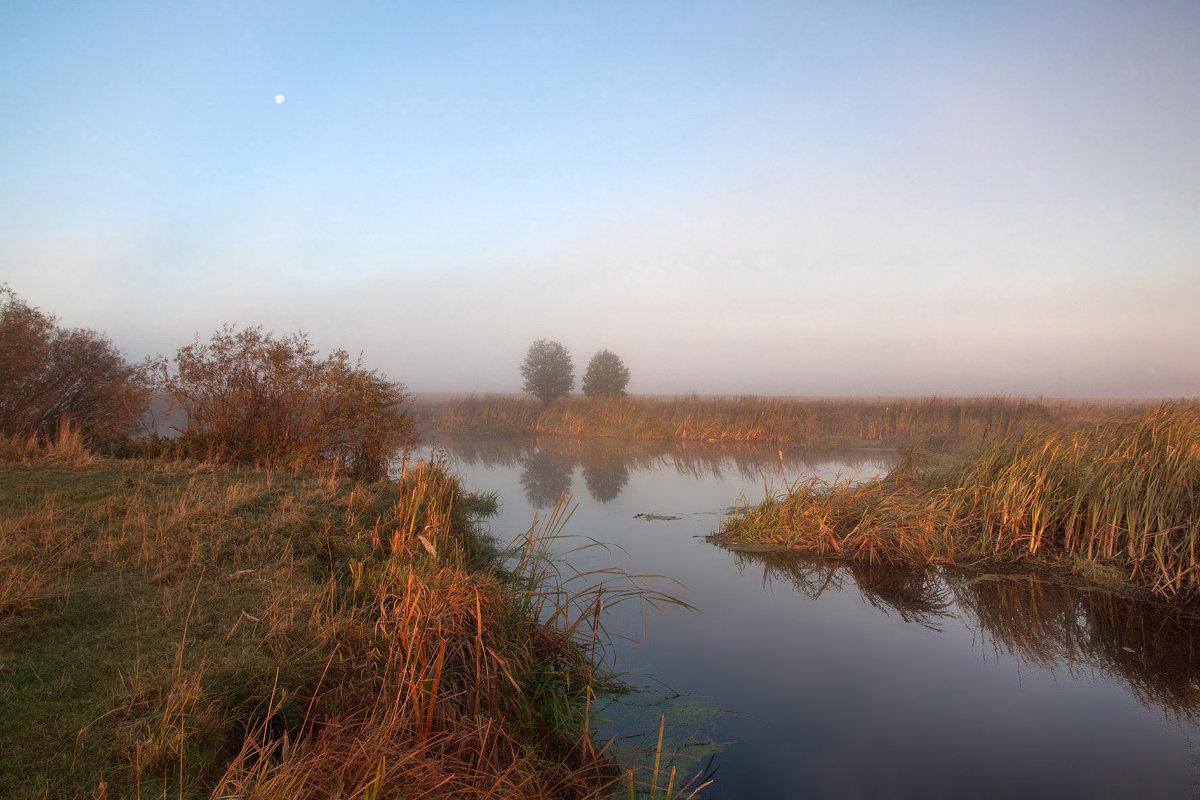 Пейзаж с Луной - Сергей Михайлович