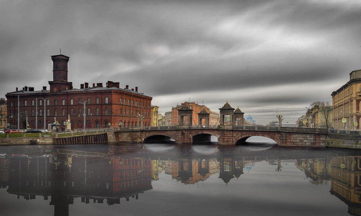Старо-Калинкин мост - ник. петрович земцов