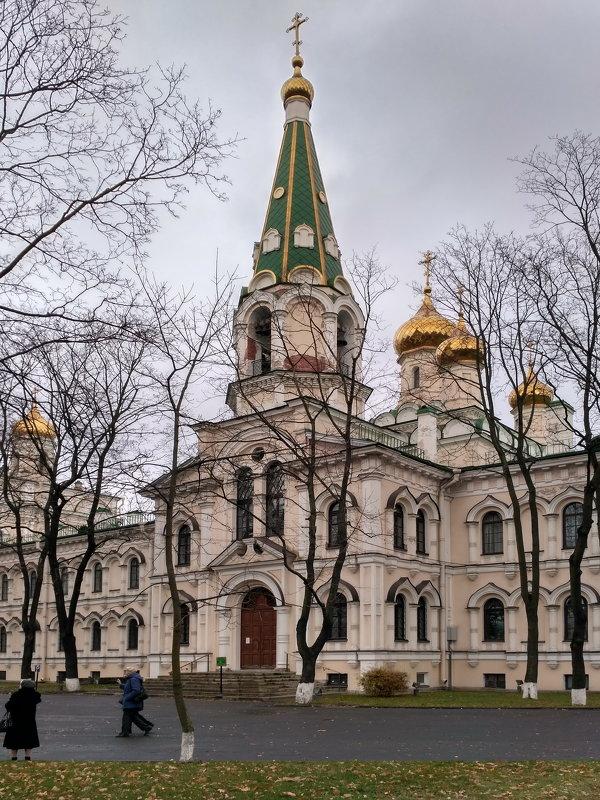 Воскресенский Новодевичий монастырь в Петербурге. Афонская церковь - Олег Попков