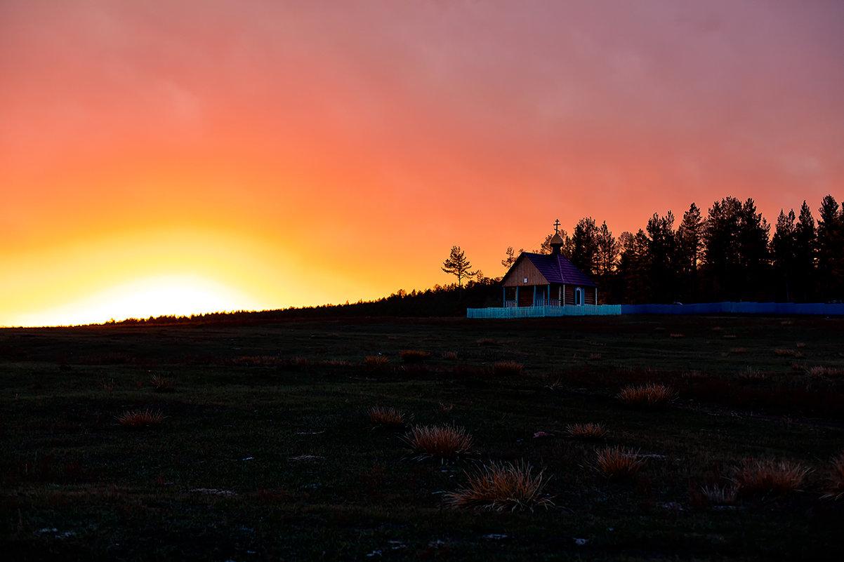 На закате дня - Ольга