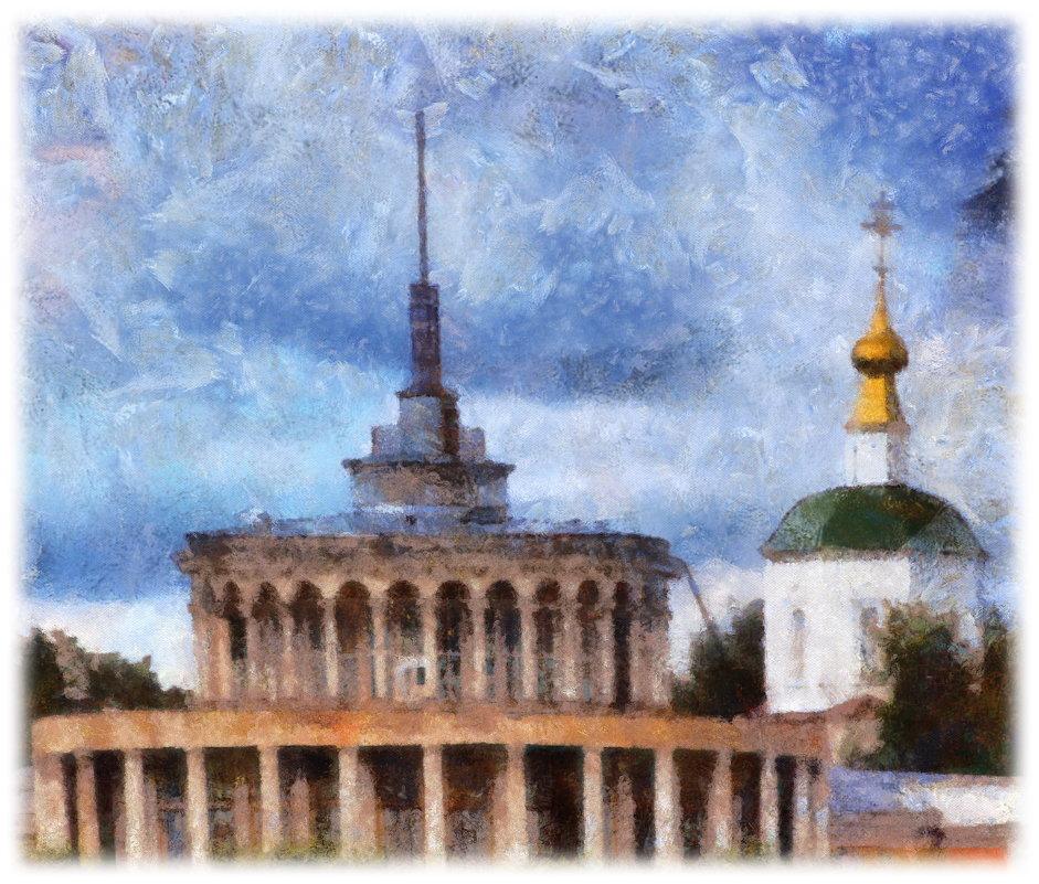Если архитектура застывшая музыка, то наши здания — собачий вальс..... - Tatiana Markova