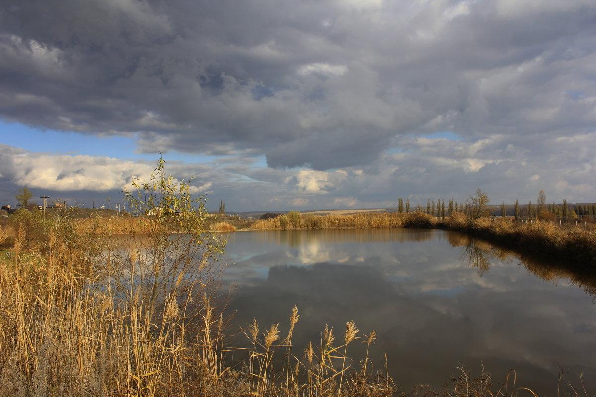 Осенние отражение - оксана косатенко