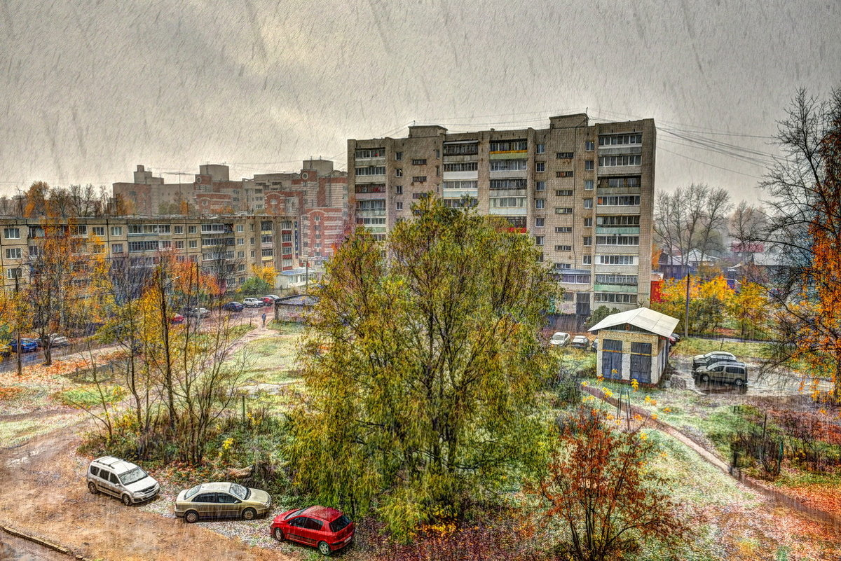 Первый снег - АЛЕКСАНДР СУВОРОВ
