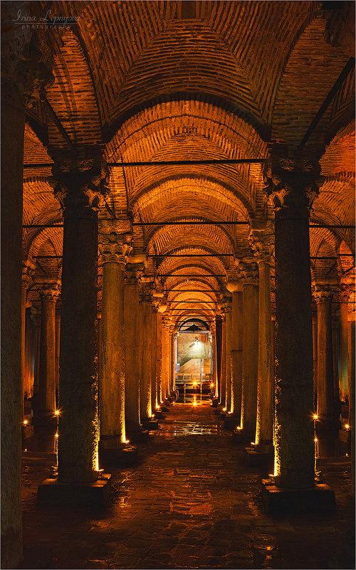 Цистерна Базилика в Стамбуле - Ирина Лепнёва
