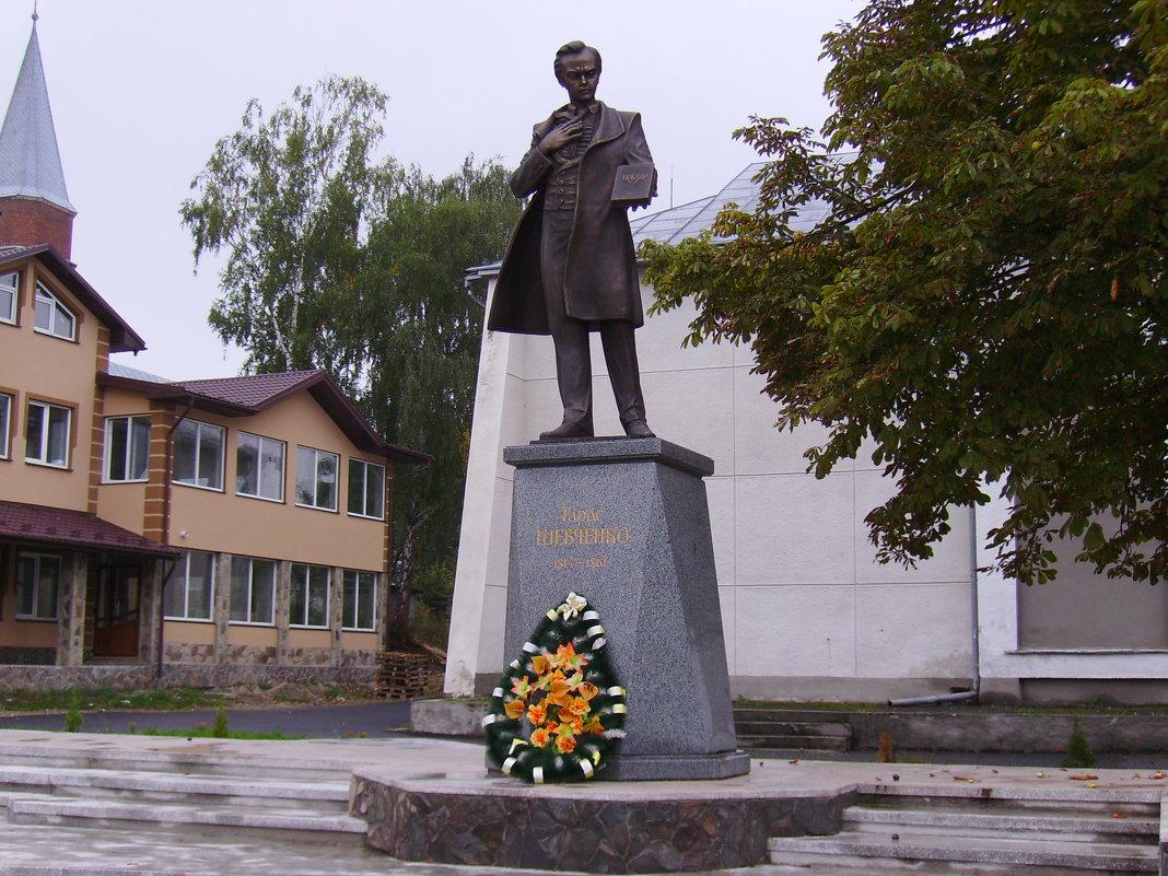 Памятник   Тарасу   Шевченко   в   Отыние - Андрей  Васильевич Коляскин