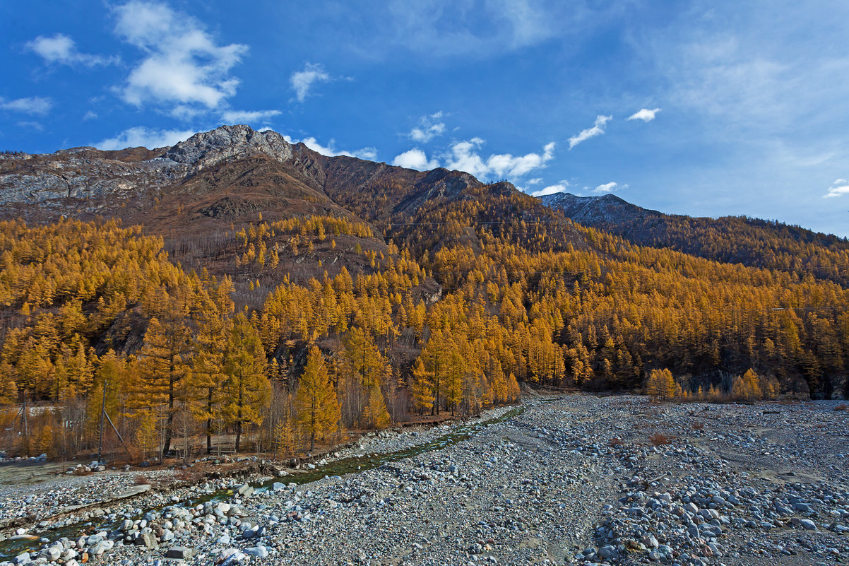 Река Белый Иркут - Анатолий Иргл