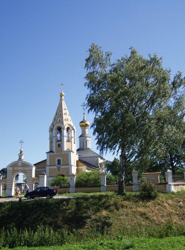 Ц. Рождества Пресвятой Богородицы XIV век - Анна Воробьева