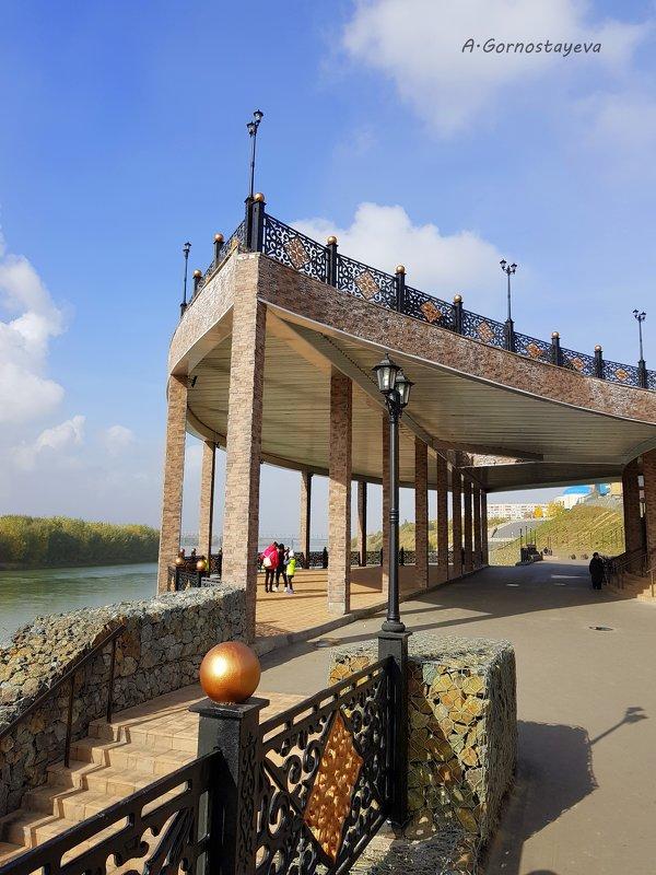 Набережная Иртыша в Павлодаре стала ещё длиннее. - Anna Gornostayeva