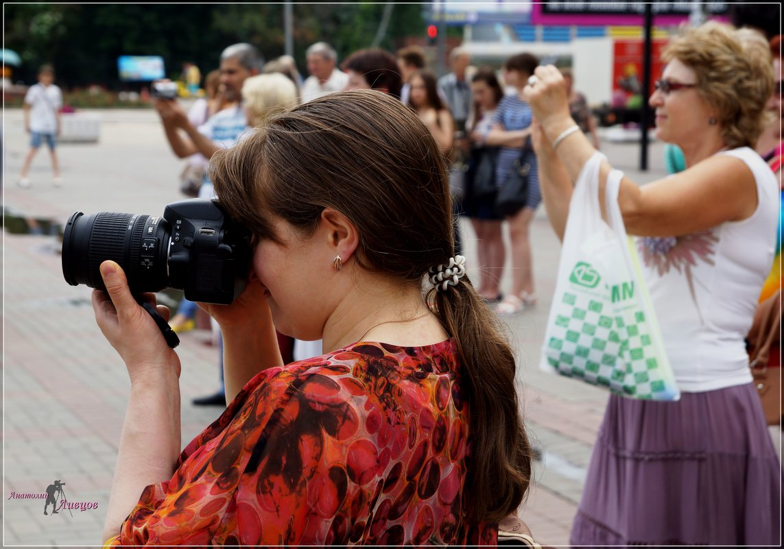 Коллега-фотографиня. - Anatol Livtsov