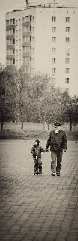 На прогулку - Игорь Герман