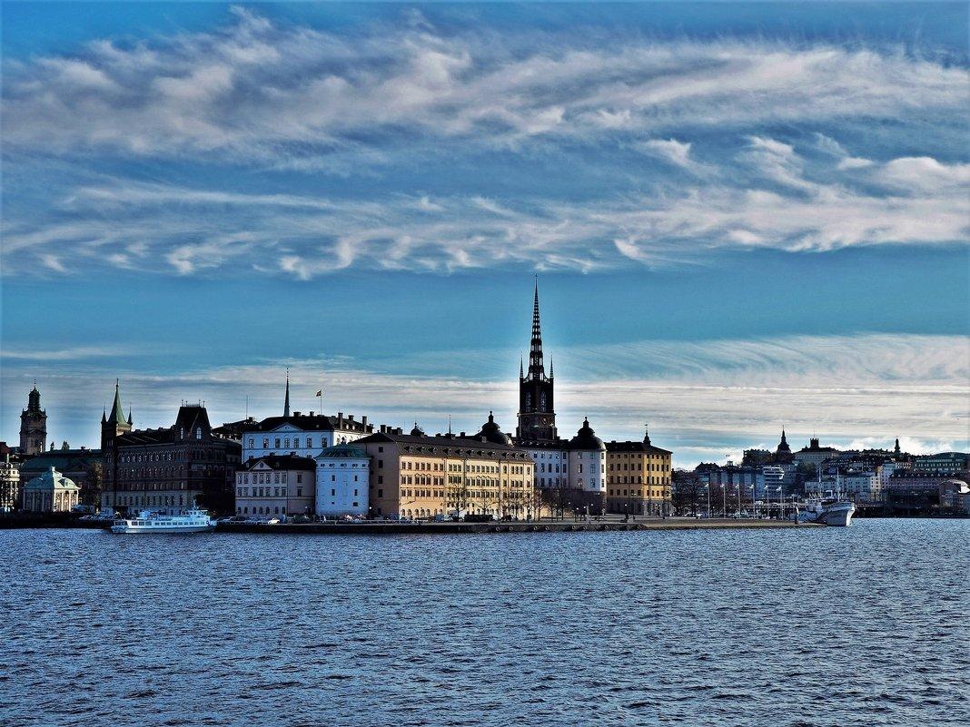 Стокгольм остров Riddarholmen - Swetlana V