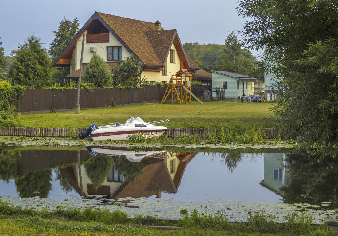 Умывался дом в реке - Сергей Цветков