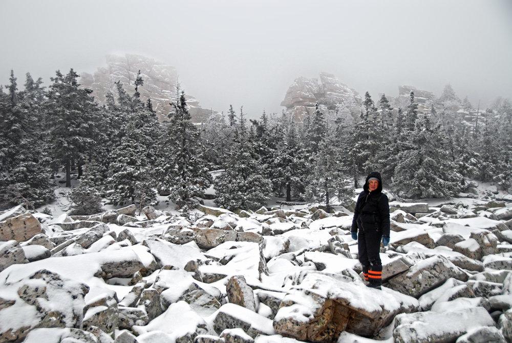 Ноябрь в горах Южного Урала - Галина Ильясова