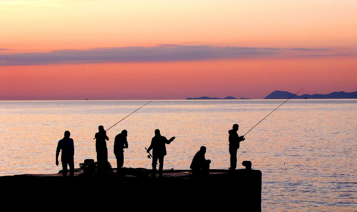 Вечерняя рыбалка - Tanja Gerster
