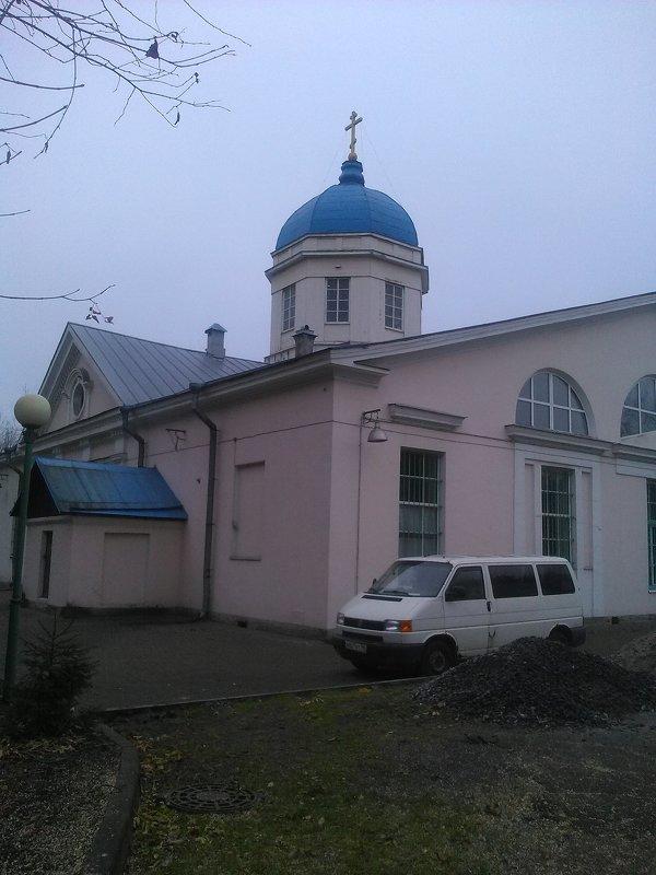 Казачья церковь, которая была построена в начале 90-х годов 20 века. (Санкт-Петербург). - Светлана Калмыкова