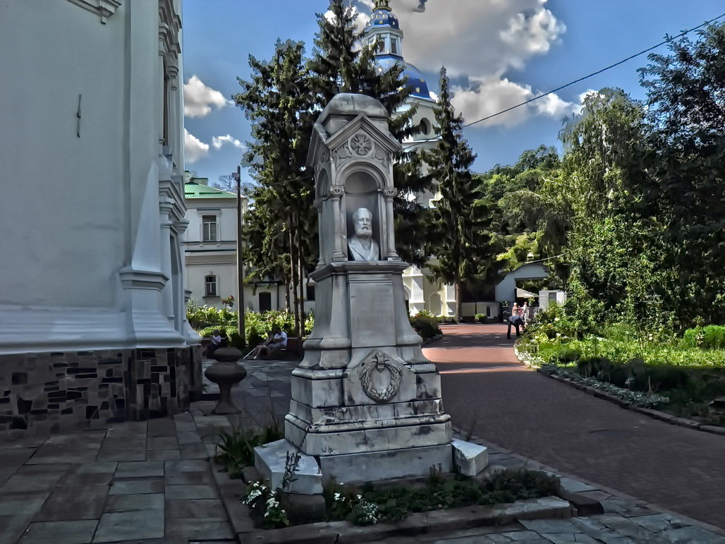Экскурсия в Выдубицкий монастрыь Фото №3 - Владимир Бровко