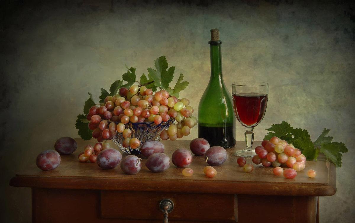 Натюрморт с фруктами - Елена Чаусова