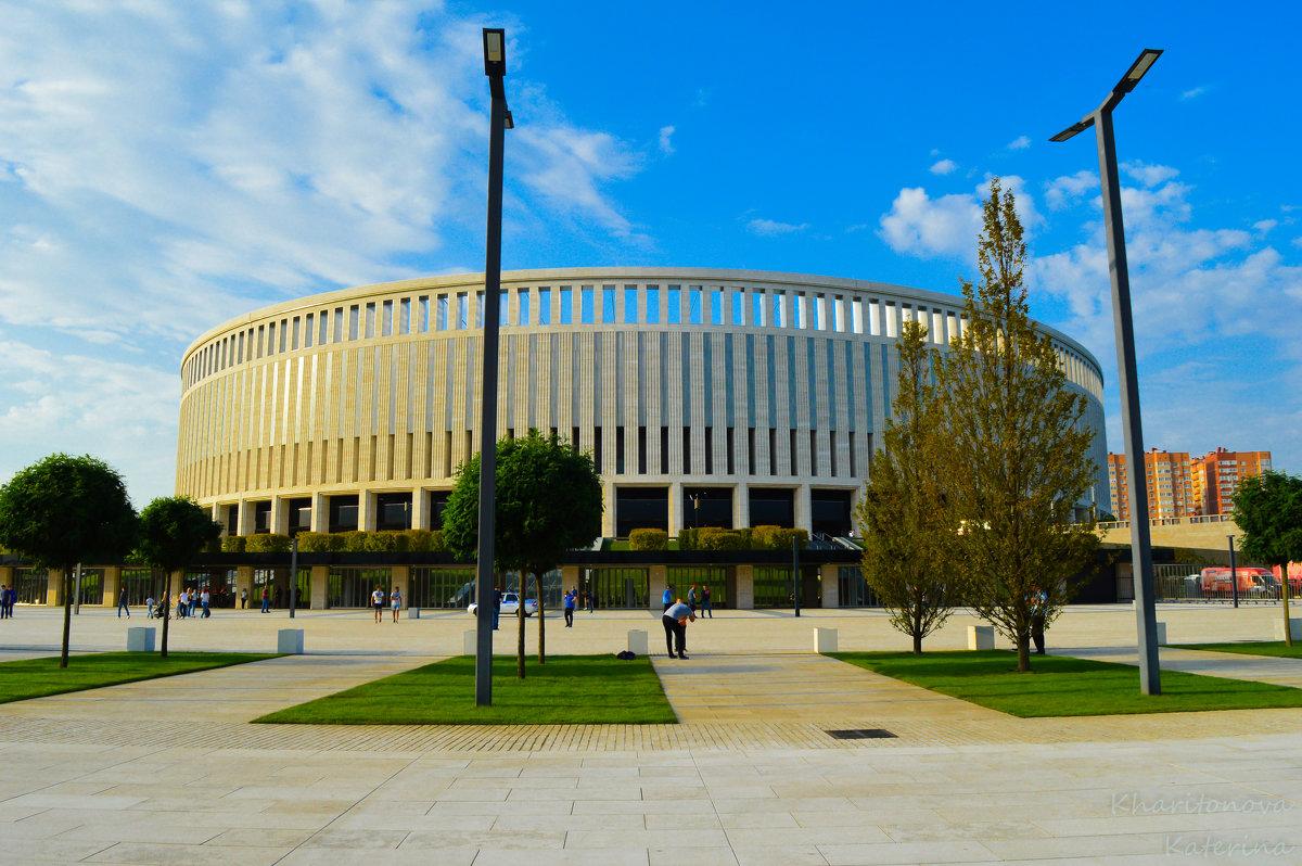 Стадион Краснодар - Екатерина Харитонова