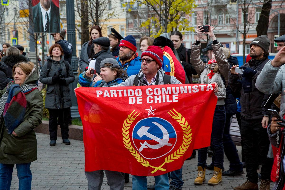 100-летие Октябрьской революции - Оксана Пучкова