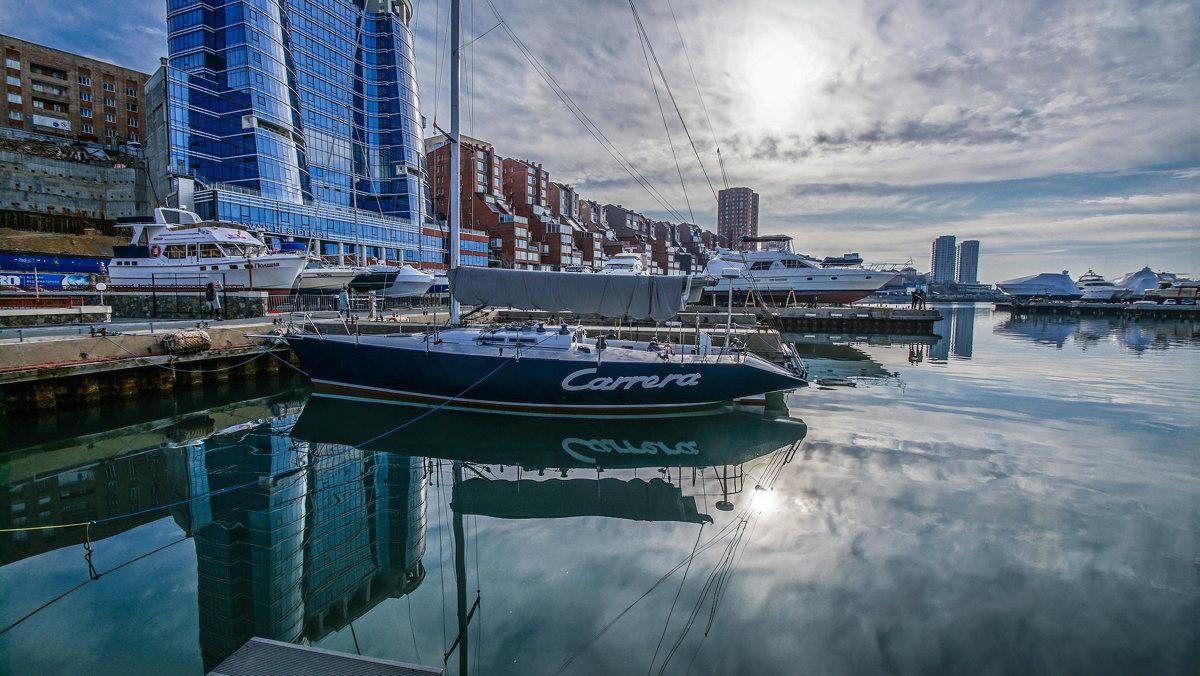Яхты на закате - Эдуард Куклин