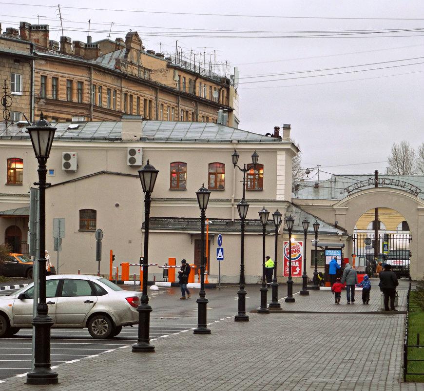 Городской пейзаж. - Марина Харченкова