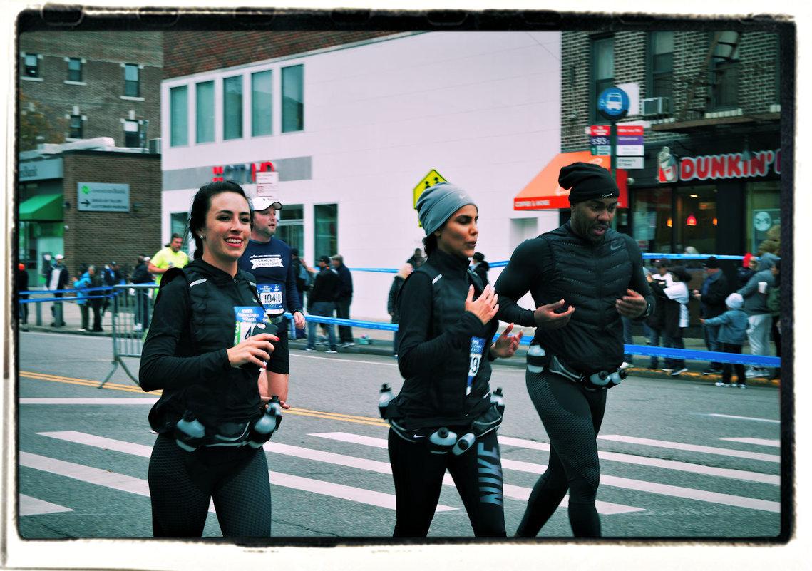 Нью-Йоркский марафон 2017. Команда NIKE - Олег Чемоданов