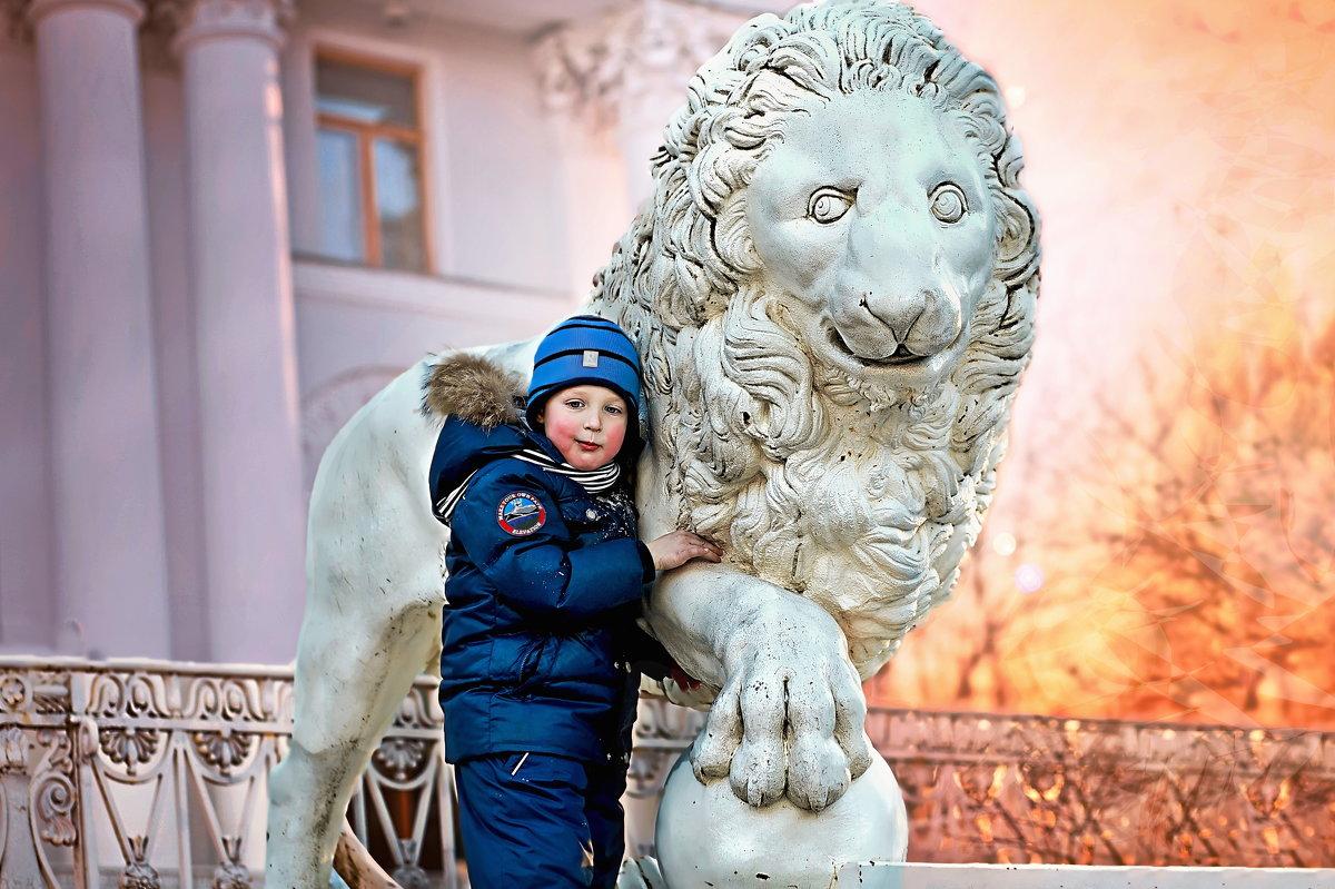 Мальчик со львом - Георгий Вересов