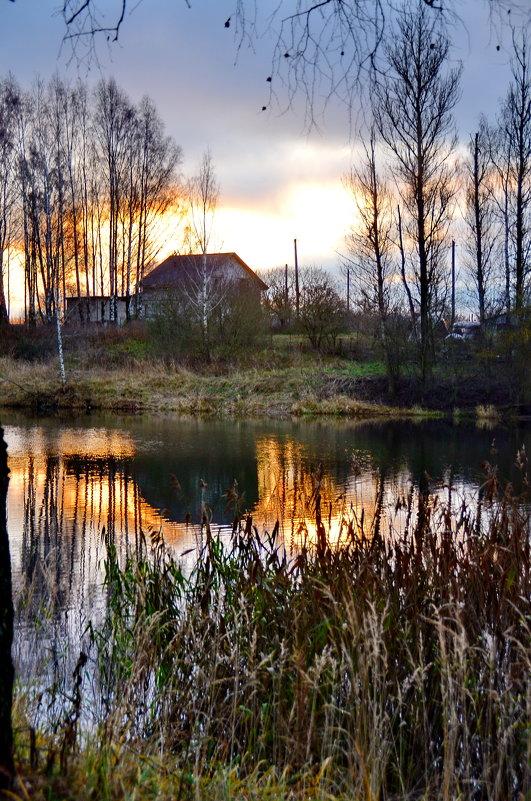 Рассвет на озере. - Aleksandr Ivanov67 Иванов