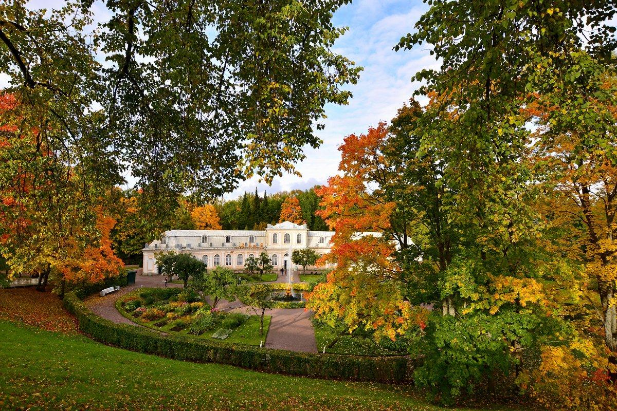 Осень в Петергофе - Витас Бенета