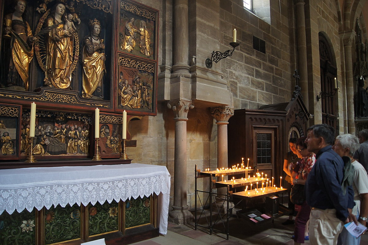Алтарь Девы Марии (Собор) - irina Schwarzer