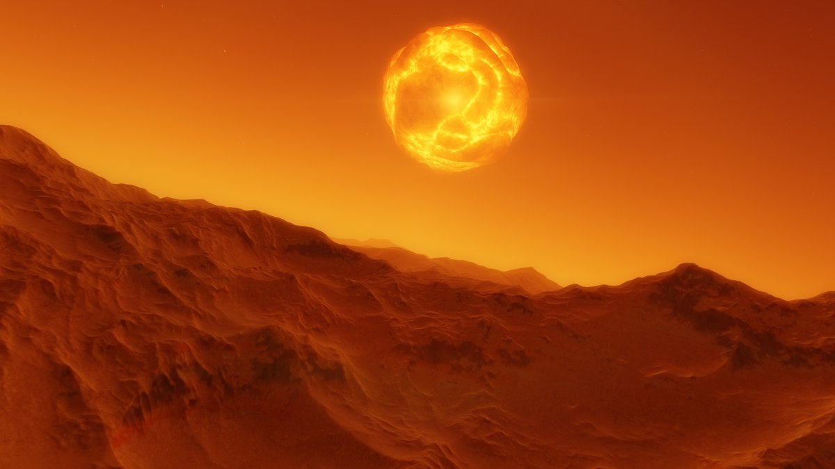 Инопланетный пейзаж - КОСМИЧЕСКИЙ ФРЕГАТ