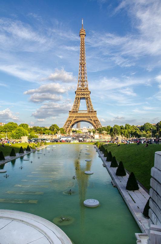 Эйфелева башня.Париж - Наталия