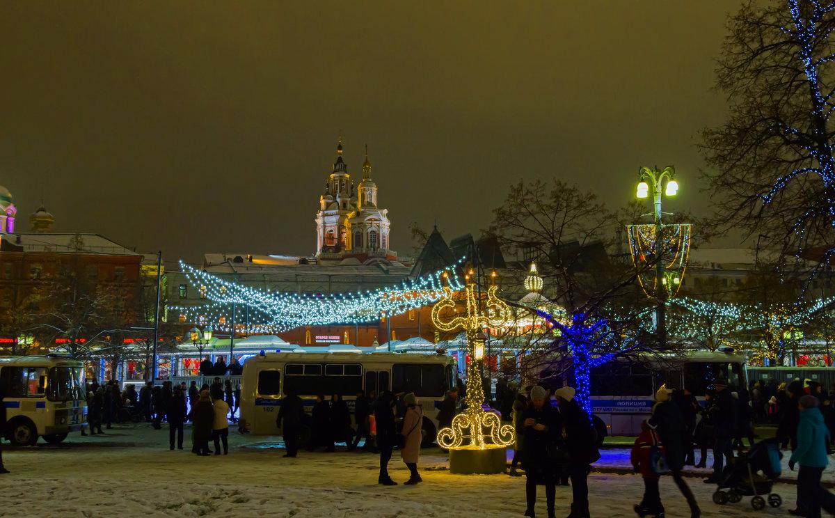 Новогодняя Москва . - Yuri Chudnovetz