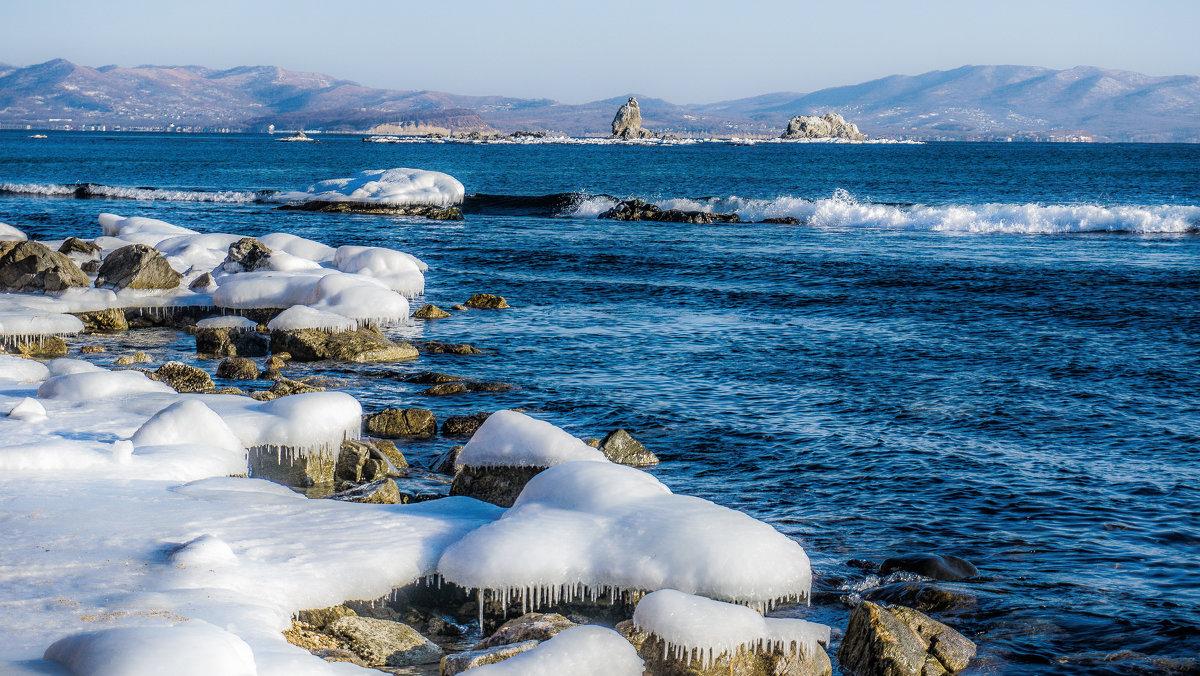 Японское море зимой - Арина